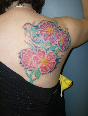 flower tattoo