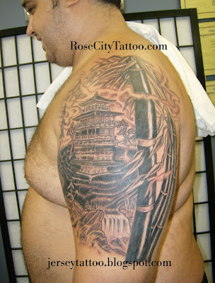 Golden Pagoda, Tattoo Cover Up