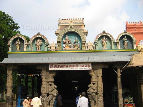 Ashtadasabhuja Durga Darshana - 06. Sri Tripura Sundari Amman Temple, Thiruvotriyur