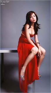 Fiona Xie's photoshoot picture