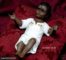 Gesu Bambino nero