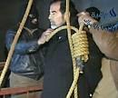 impiccagione di Sadam Hussein