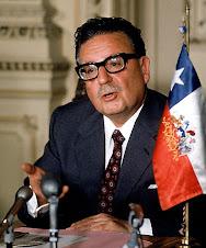 salvatore Allende Presidente Cile
