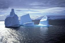ghiacci alla deriva