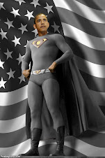 Obama superman