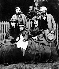 la famiglia Marx ed Engels