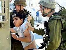 bambino palestinese prelevato