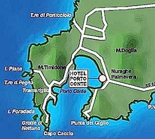 Porto Conte Map