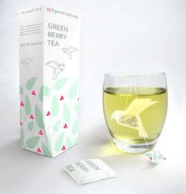 design origami tea bags