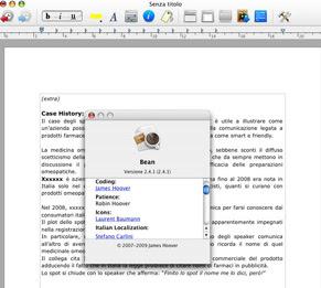 Bean v.2.4.1 editor