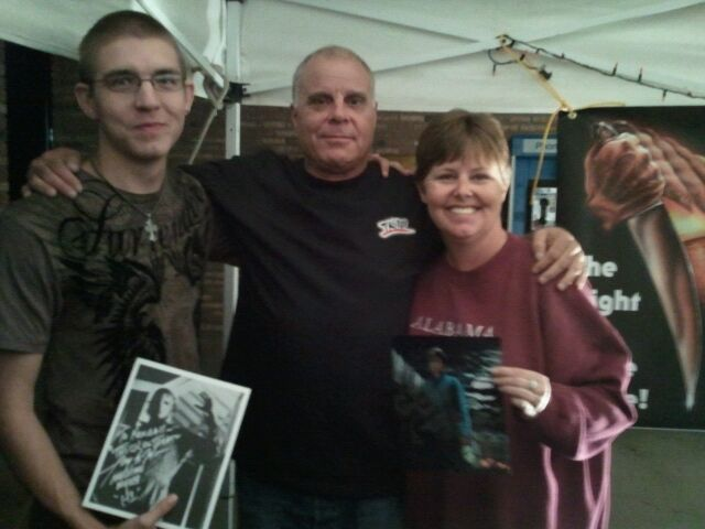 I did get to meet the original Michael Myers Tony Moran from the very