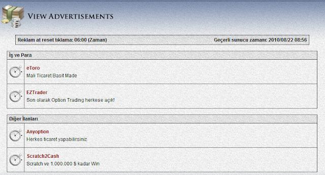 ONBUX PTC Sitesi ile Site Tıkla Para Kazan
