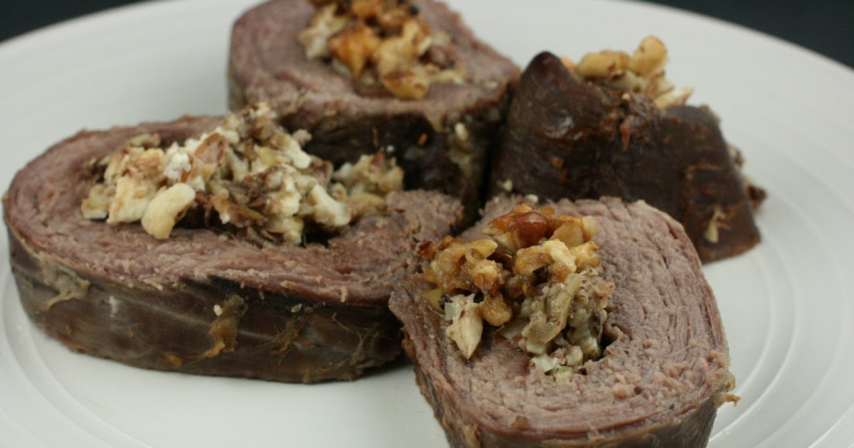 Year of Slow Cooking: CrockPot Flank Steak Stuffed with Apple, Feta ...