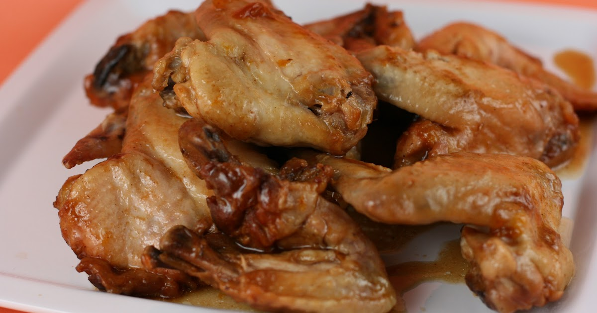 Apricot Barbecue Wings Slow Cooker Recipe