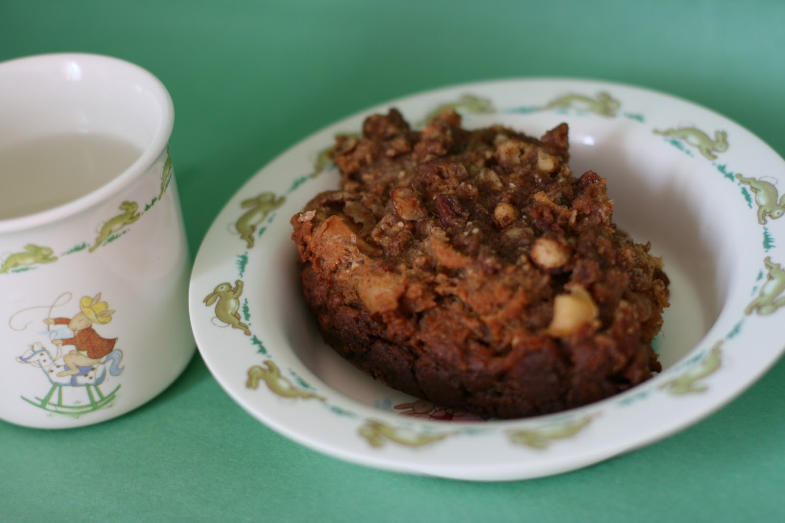 Year of Slow Cooking: Apple Coffee Cake-- made in the Slow Cooker