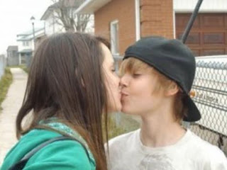 Justin Bieber with Girlfriend