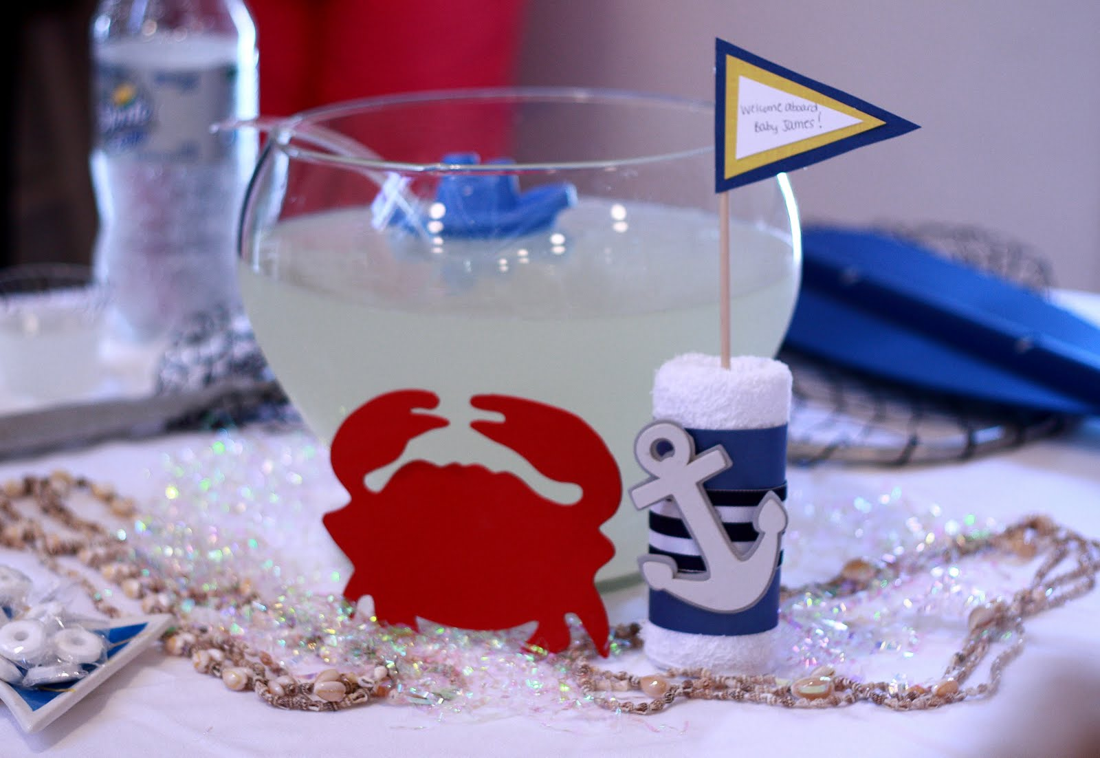 the jessie james gang nautical themed baby shower