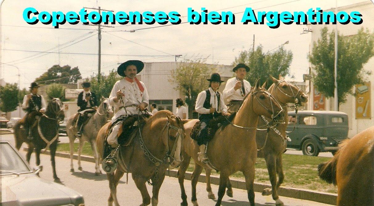 Copetonenses bien argentinos