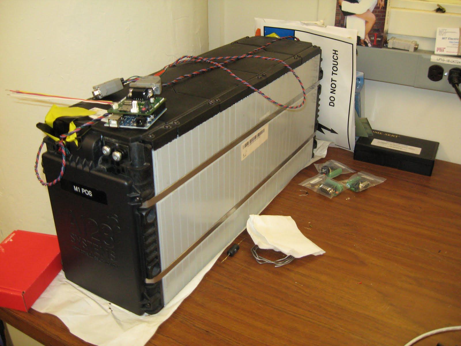 Prismatic 20ah A123 Battery Module Can Bus Communication