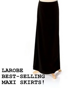 Plain Black Maxi Dress on Larobe   Maxi Dresses Galore      February 2010