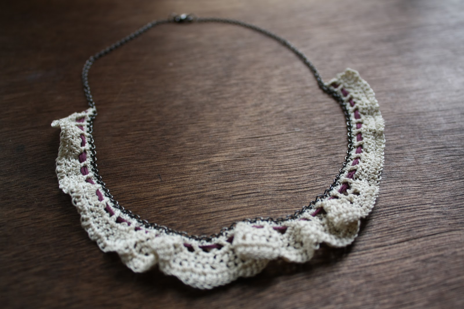 Crochet Necklace : Crochet Necklaces