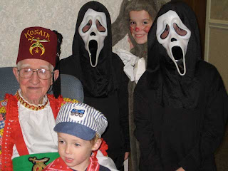 Halloween with the kidlets