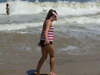 Swimming at Virginia Beach