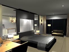 Desain Kamar Tidur 3D