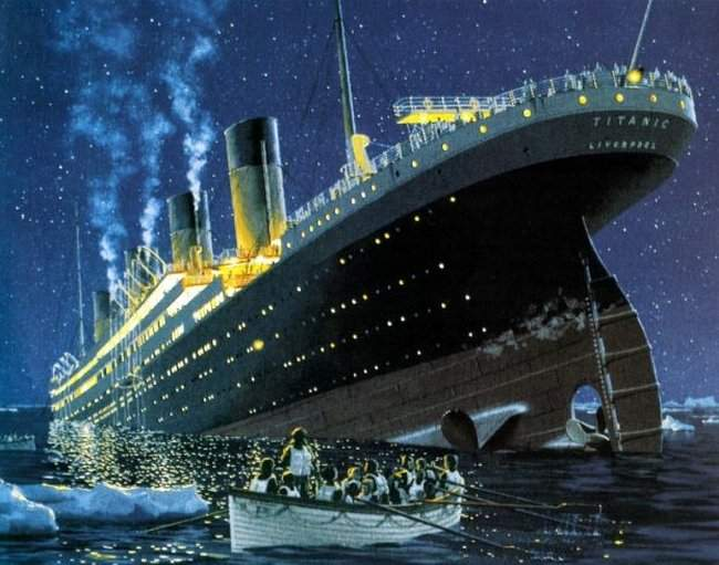 titanic making of