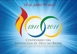 homenagem Casa da Biblia aos 99 anos da Assembleia de Deus no Brasil