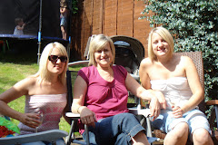 My twin daughters Laura and Louise with their mum!