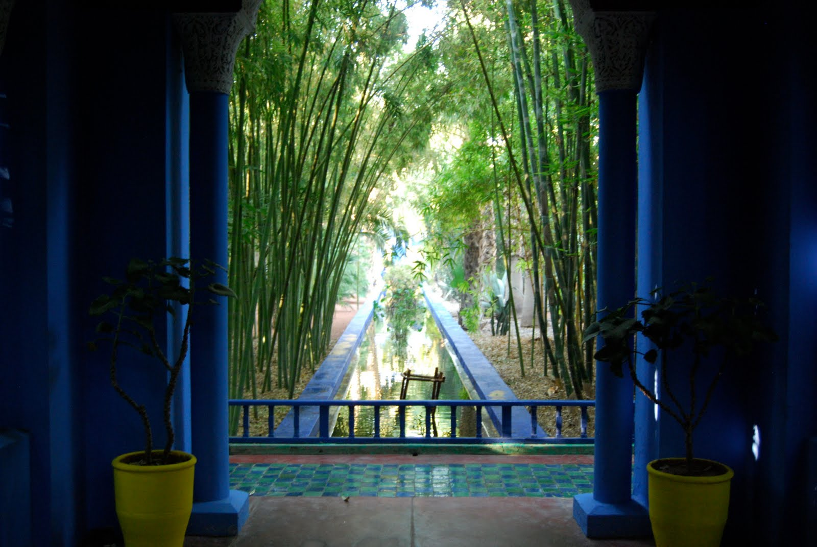 The josh also rises marrakesh jardin majorelle for Jardin yves saint laurent maroc