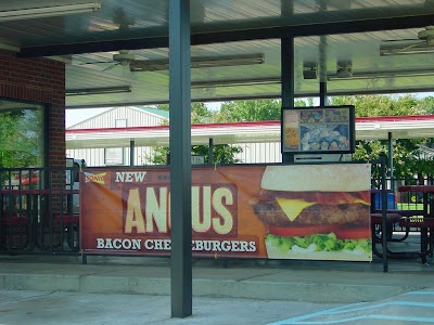 Sonic's newest menu item:  The Anus Burger