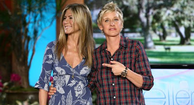Jennifer Aniston Sings On The Ellen DeGeneres Show