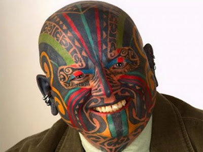 Facial Tattooing