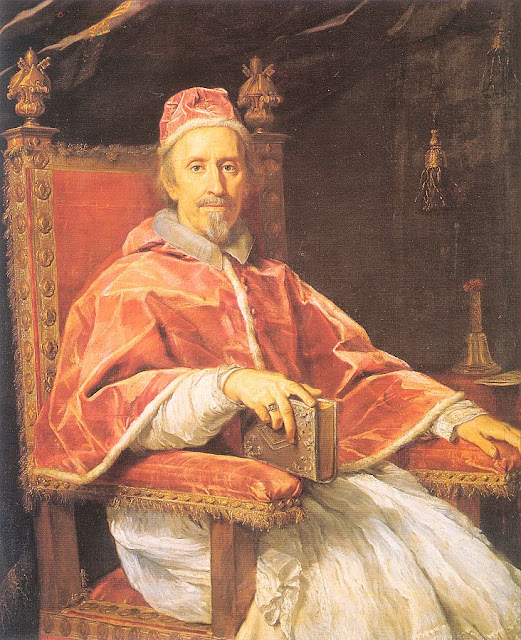 idle speculations  pope clement ix