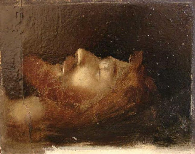 henner+head+of+christ+in+the+tomb dans Peinture