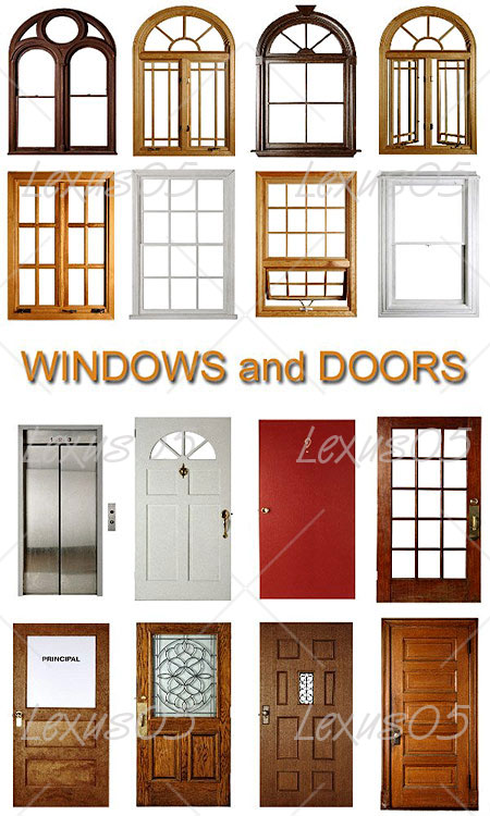 Quality graphic resources windows doors textures for Bloc autocad fenetre