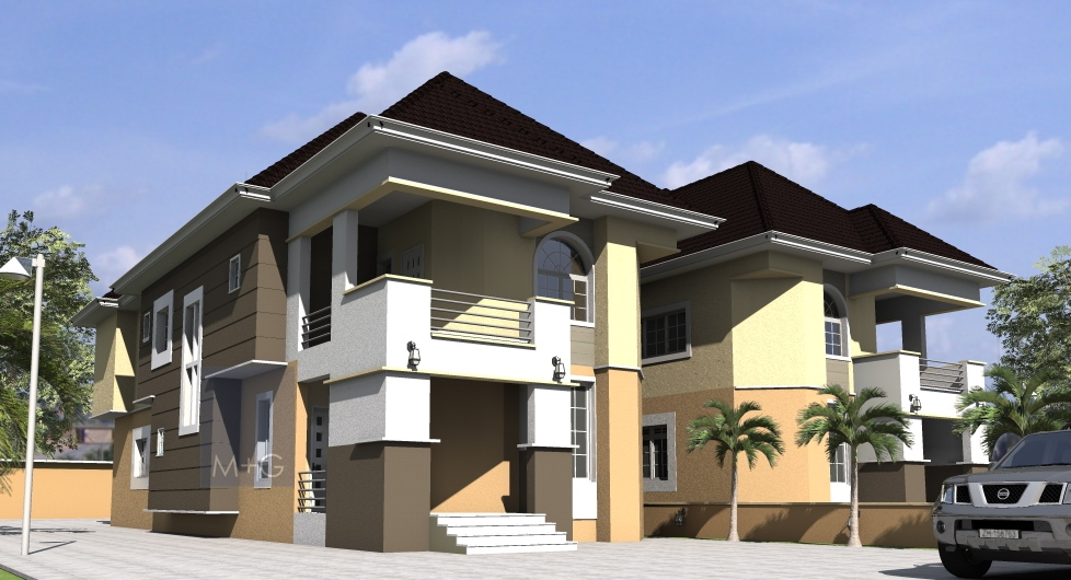 Contemporary nigerian residential architecture contemp 5 for Nigerian architectural designs duplex