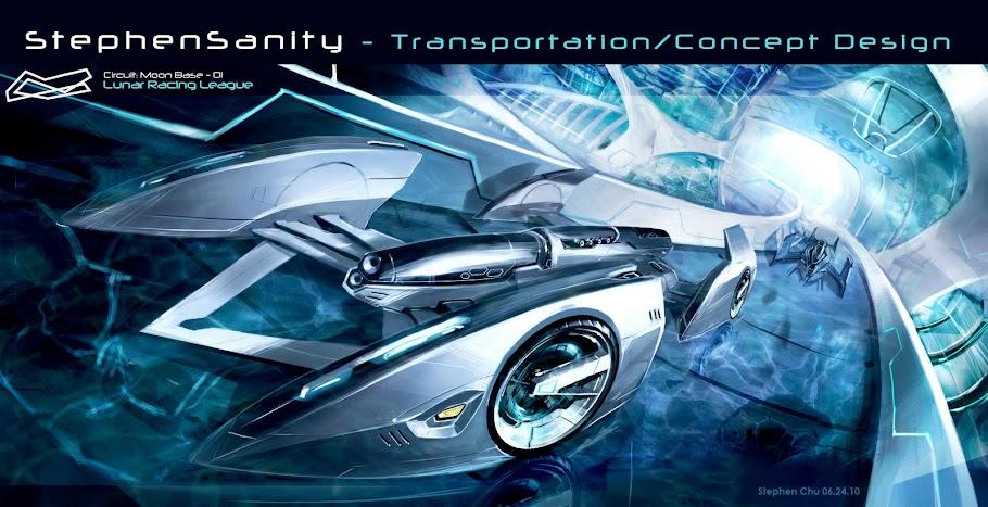 StephenSanity - Transportation Designer / Concept Artist