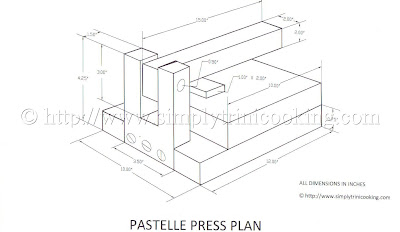 Pastelle Press Plan