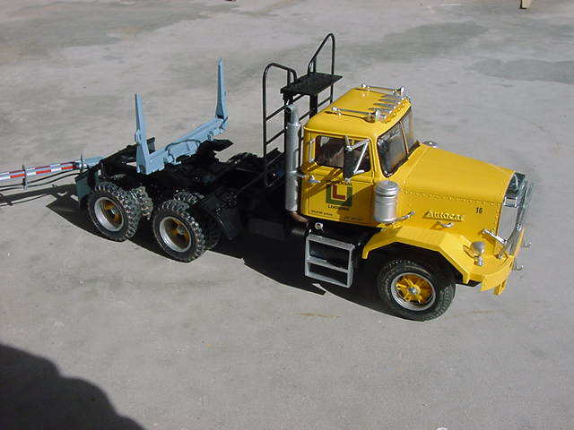 AMT Model Trucks and Trailers
