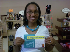 I completed my 1st beading class at Beaded Couture!