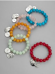 $16.00 Spiritual Beaded Bracelets (available with a cross)