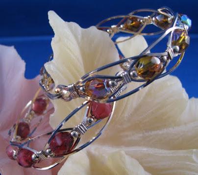 Wire Wrap Glass Bracelet Class