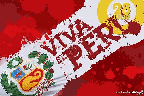28 De Julio Independencia Del Peru