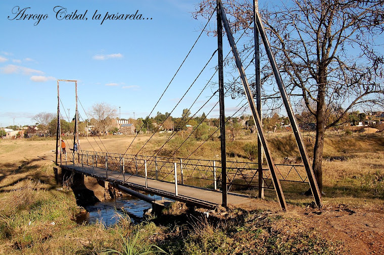 el arroyo, el parque... el barrio