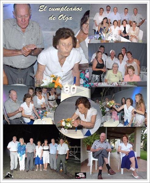 El cumple 80 de Olga!!!