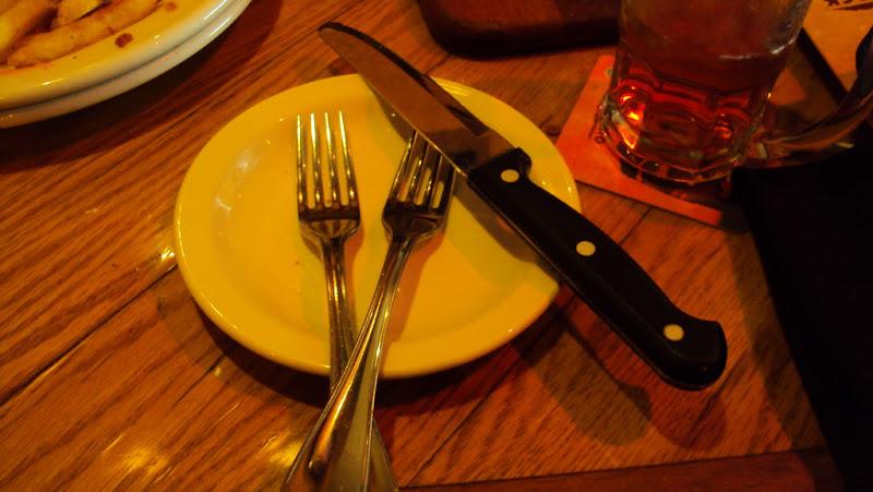 Por que dois garfos?