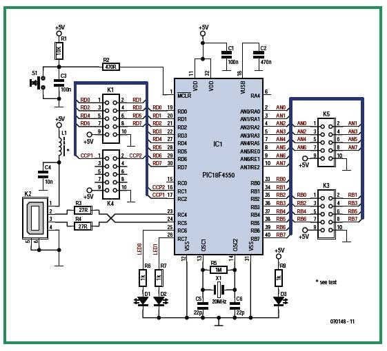 Data Acquisition Articles : Soldering station usb data acquisition card an article